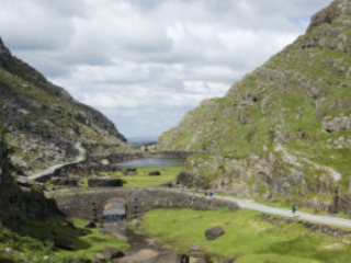 Looking north from the Gap of Dunloe