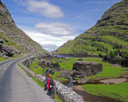 Rest stop in the Gap of Dunloe